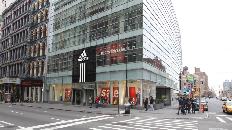 Adidas Store Building In Soho
