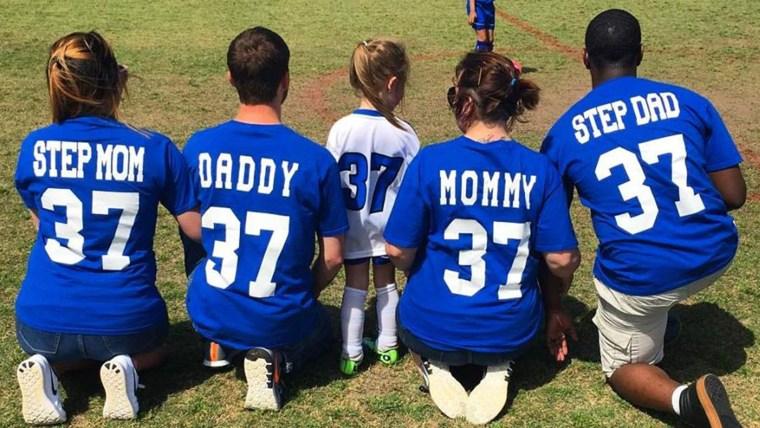 Soccer jersey family
