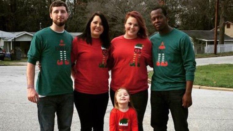 Matching Christmas shirts