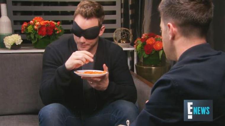 Chris Pratt smells cheetos.