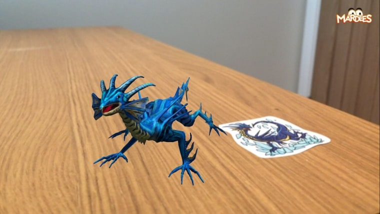 Mardles Augmented Reality toy