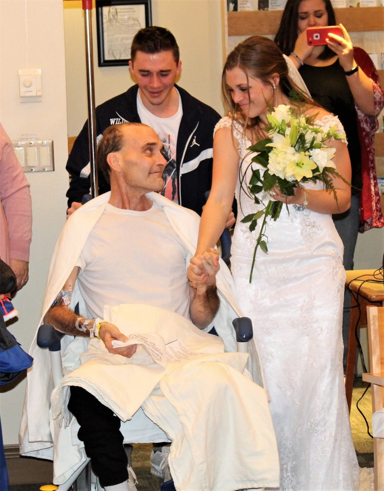 Dying doctor sees wedding and graduation of kids in hospital