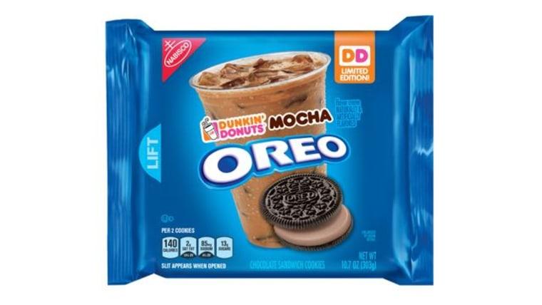 Dunkin Donuts Mocha Oreos