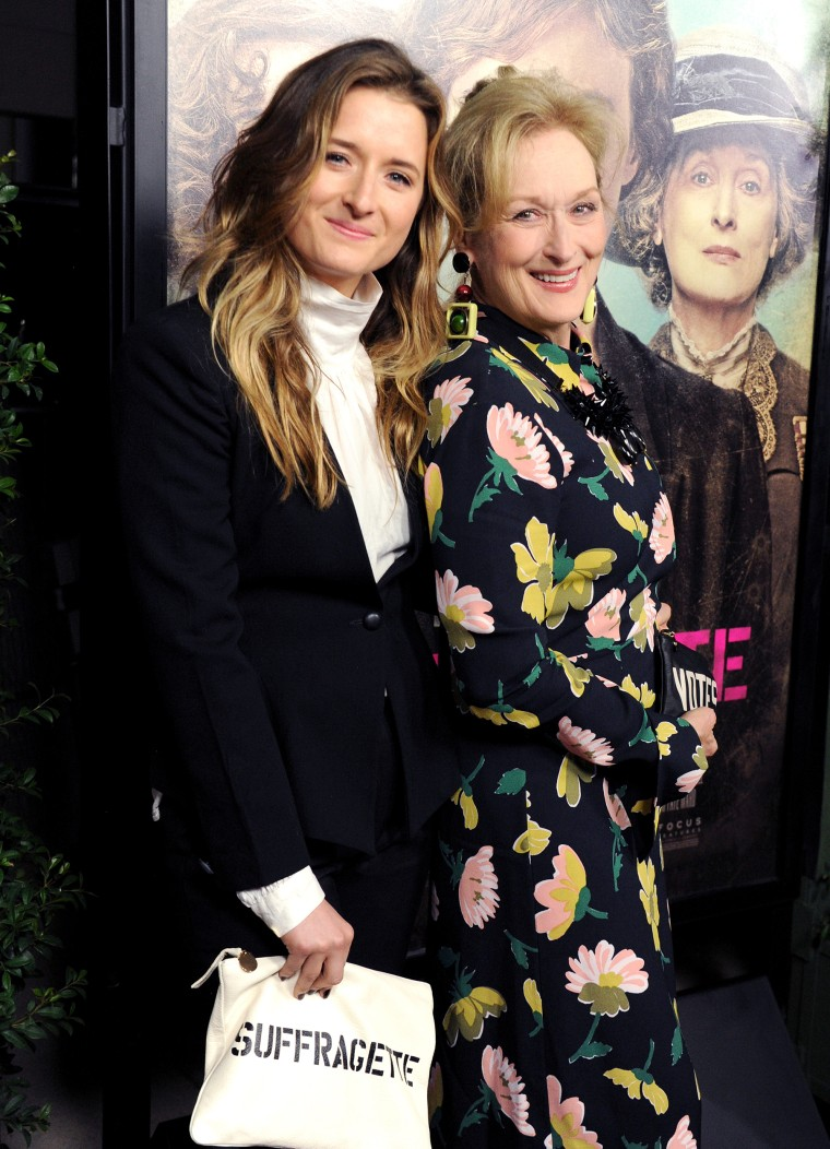 Meryl Streep and Grace Gummerat