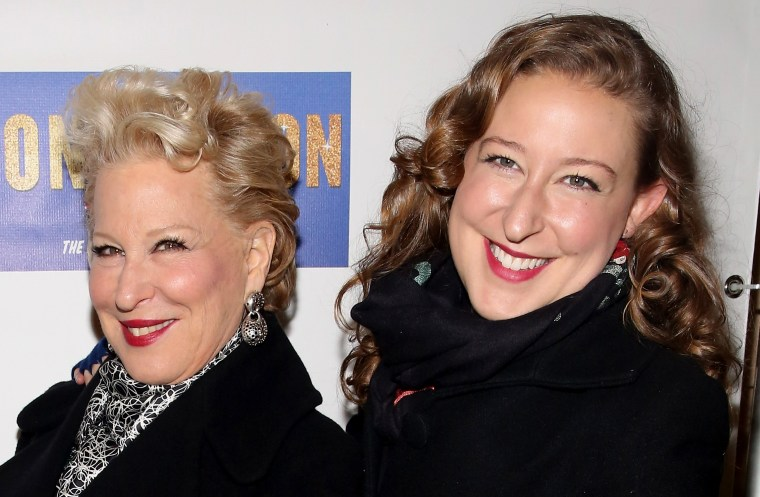 Bette Midler and Sophie