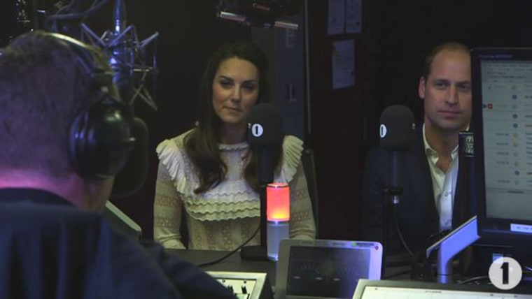 William and Kate, the Duke and Duchess of Cambridge, gave a surprise interview on BBC Radio 1.