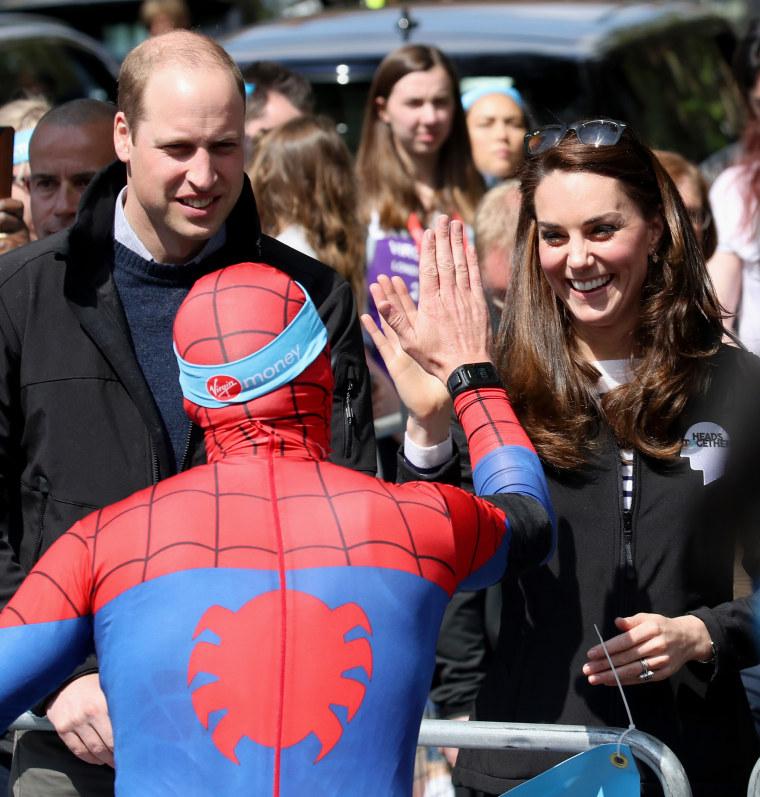 Duchess of Cambridge at London Marathon