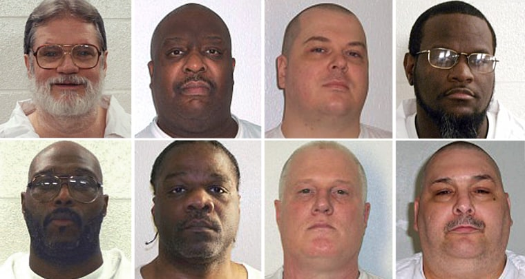 Image: Arkansas executions