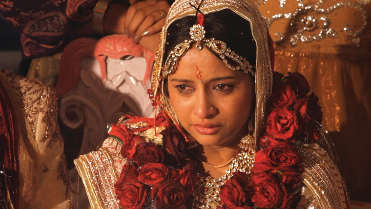 "Amrita Son on her wedding day in ""A Suitable Girl."""