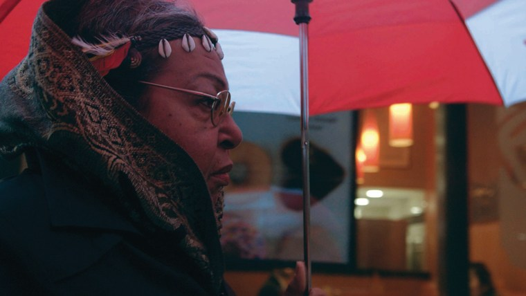 """Film still from """"The Death and Life of Marsha P. Johnson"""""""