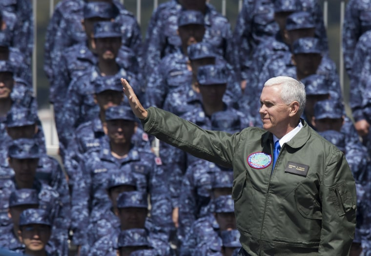 Image: Day 2 of U.S. Vice President Mike Pence's Visit To Japan