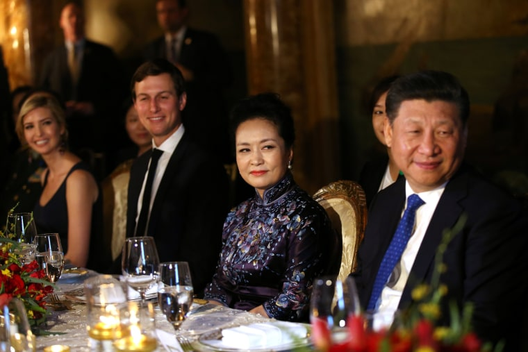 Image: Ivanka Trump and China's President Xi Jingping