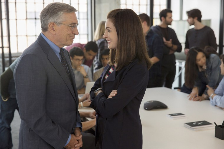 Image: Robert De Niro and Anne Hathaway from the movie The Intern