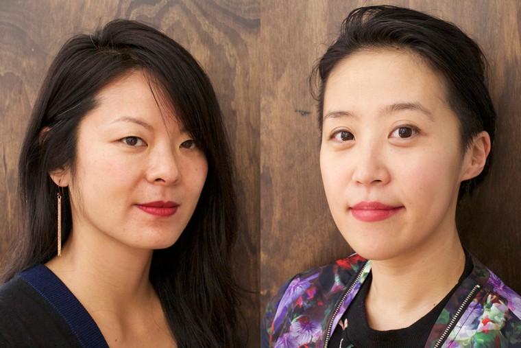 """Wasted"" co-directors Anna Chai and Nari Kye"