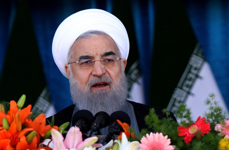 Iran's President Hassan Rouhani is viewed as a moderate.