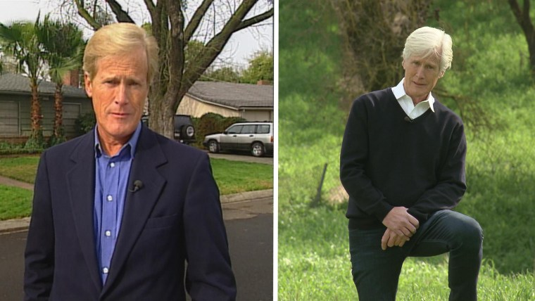 Keith Morrison, 2003 (Left) and 2017 (Right) | Dateline NBC