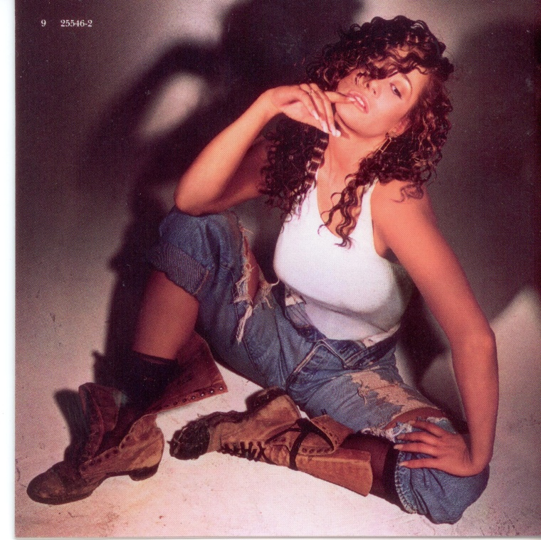 The back cover of Taja Sevelle's eponymous debut album in 1987. The singer made her first record on Prince's Paisley Park imprint.