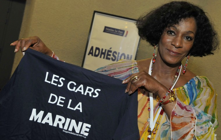 Image: Huguette Fatna of the National Front