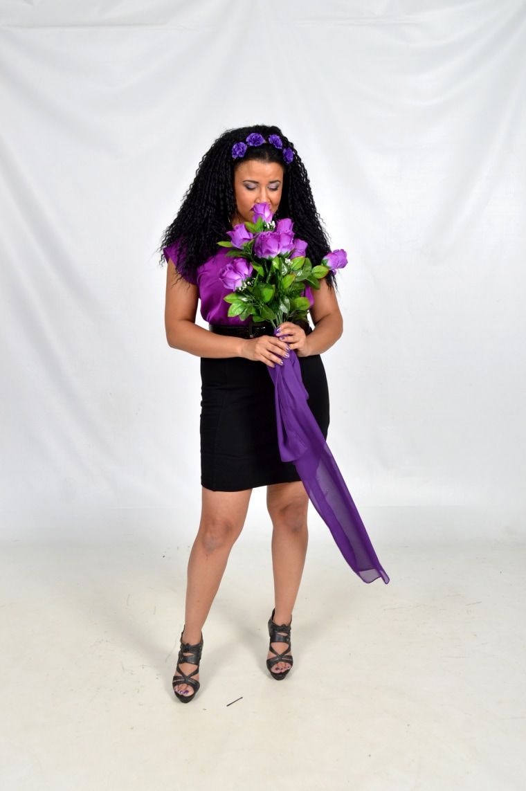 Image: Superfan Chandra Thomas Whitfield decided to honor Prince in a fantasy photo shoot