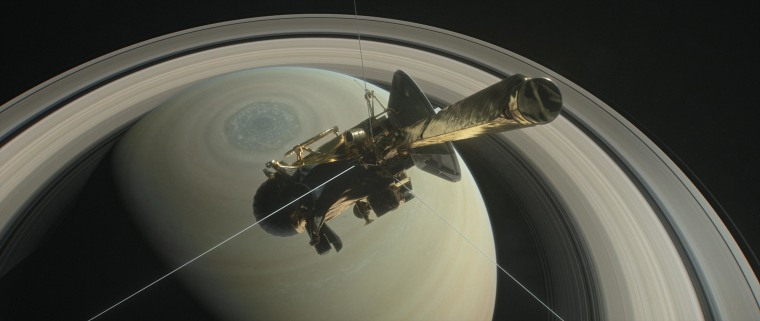 Cassini will make its final flyby of Saturn's moon Titan on April 21, using its radar to reveal the moon's surface lakes and seas one last time before it plunges between the planet and its rings.