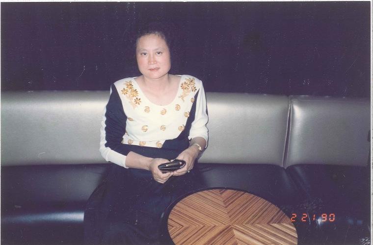 Carol Park's mother in 1990.