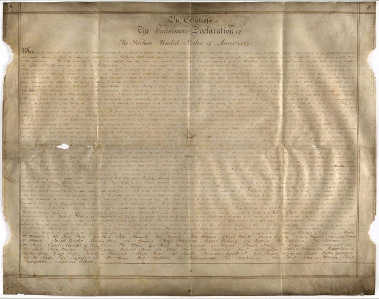 Image: The Sussex Declaration.