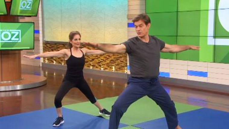 photograph about Dr Oz 7 Minute Workout Printable referred to as Dr. Oz stocks his 7-second work out plan