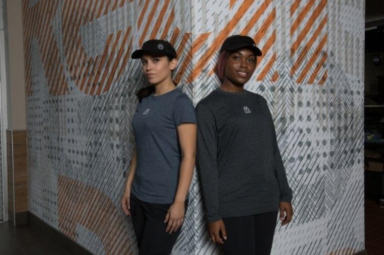 McDonald's new uniforms