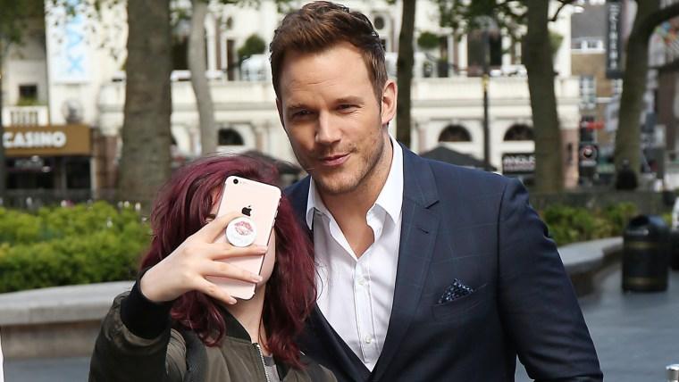 Chris Pratt selfie