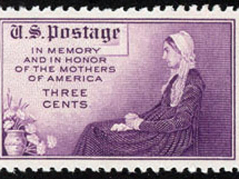 Commemorative Mother's Day stamp