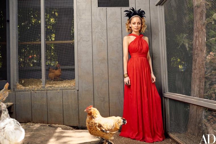 Nicole Richie chicken coop
