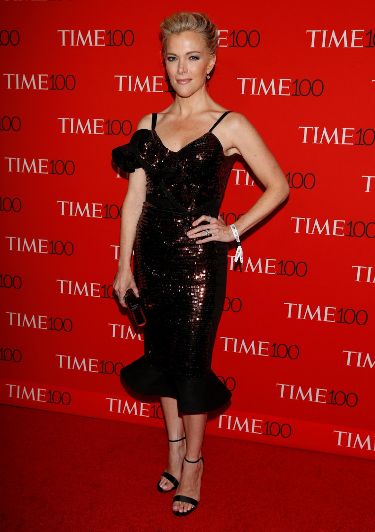 Image: TV host Megyn Kelly arrives for the Time 100 Gala in the Manhattan borough of New York