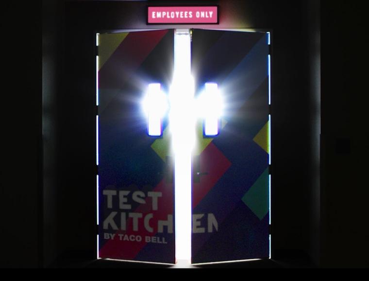Taco Bell test kitchen