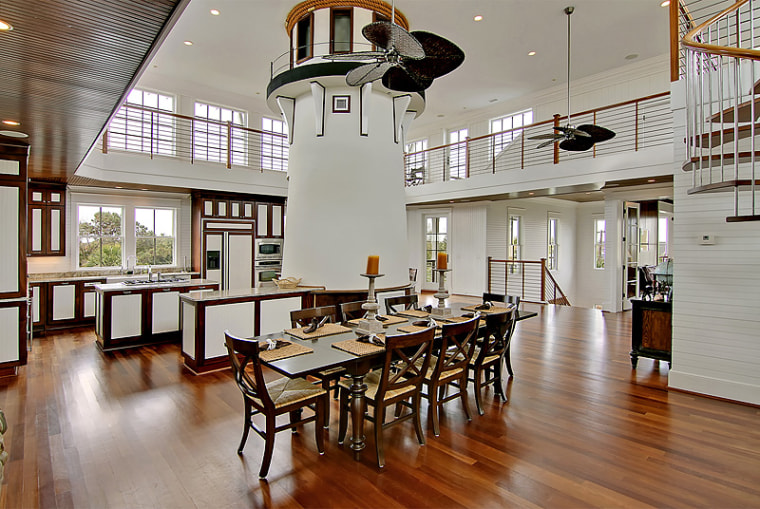 Home With Lighthouse Inside