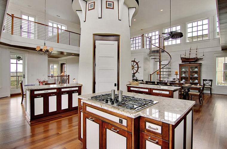 Phil Shepard Real Estate Photography Home With A Lighthouse Inside Of It