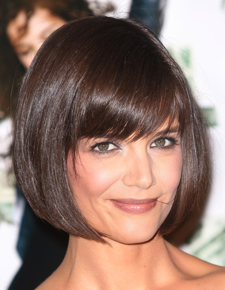 Katie Holmes just got a short pixie haircut — see her new ...