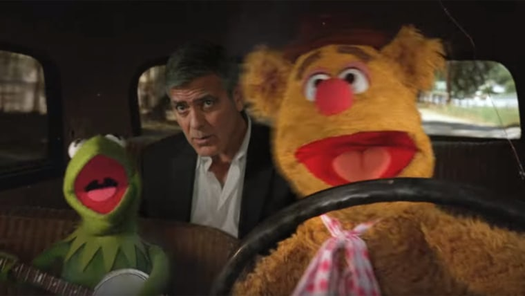 The Muppets take George Clooney for a ride along in new Nespresso ad.