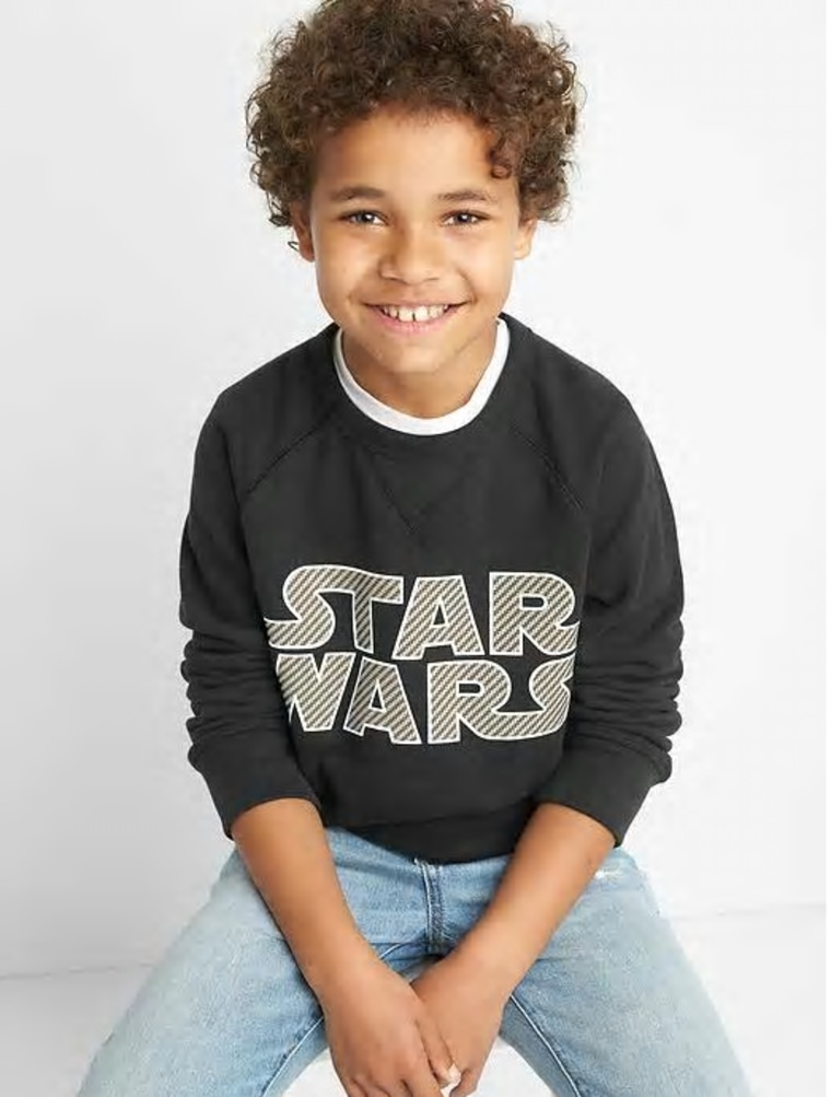 Star Wars sweatshirt for kids Gap
