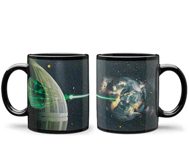 Star Wars Death Star Heat Change Mug
