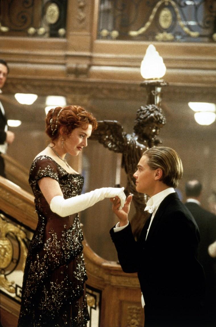 TITANIC, Kate Winslet, Leonardo Di Caprio, 1997, TM & Copyright (c) 20th Century Fox Film Corp. All