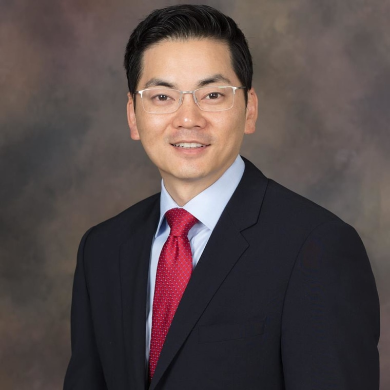 Robert Lee Ahn is one of two frontrunners in California's District 34 congressional race, held June 6th.