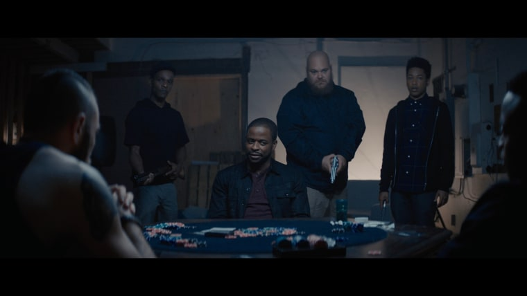 """A scene from """"Sleight,"""" which will be released on April 28th, 2017."""