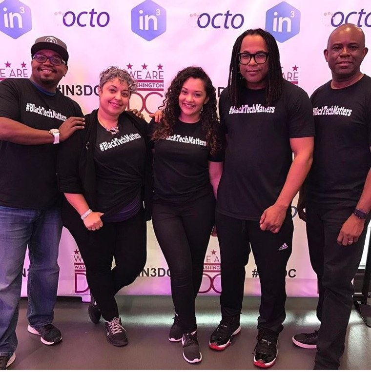 #BlackTechMatters, and event hosted during In3 week of welcome hosted by Black Female Founders, an organization that promotes women-led tech ventures in the Black Diaspora.