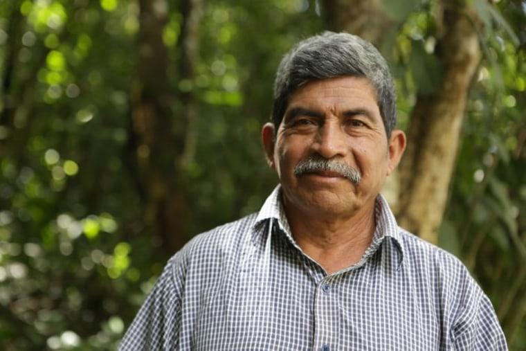 Rodrigo Tot, 2017 Goldman Environmental Prize recipient for South and Central America.