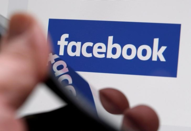 FILE PHOTO: The Facebook logo is displayed on the company's website in an illustration photo taken in Bordeaux, France