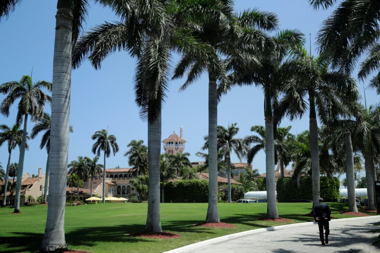 Image: President Trump's Mar-a-Lago estate is seen in Palm Beach