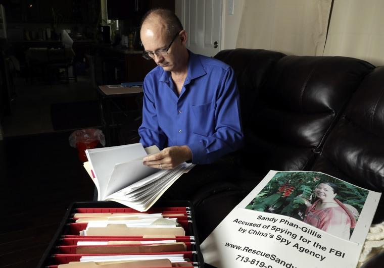 Image: Jeff Gillis, husband of Phan Phan-Gillis