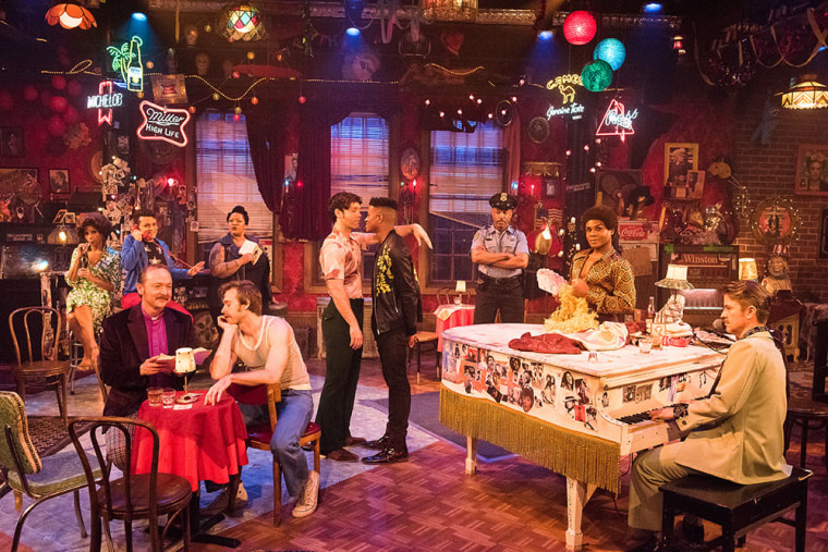 """""""The View Upstairs"""" at the Lynn Redgrave Theater in New York, NY"""