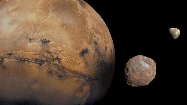 The proposed Mars Terraformer Transfer (MATT) plan makes use of a satellite called Shepherd to steer an impactor into Mars.