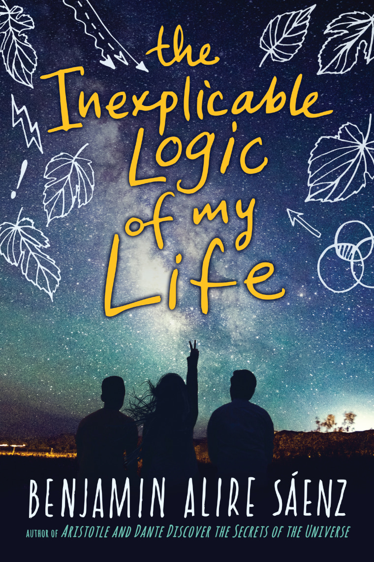 'The Inexplicable Logic of My Life' book cover.